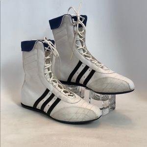 Adidas Women's White Boxing Shoes Size 8